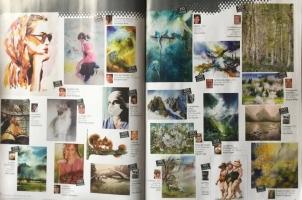 l'Art de l'aquarelle page 6-7