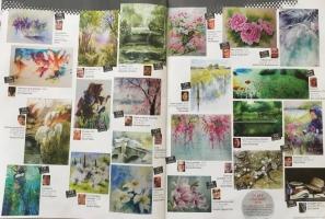l'Art de l'aquarelle page 4-5